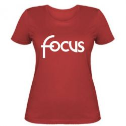 Жіноча футболка Focus