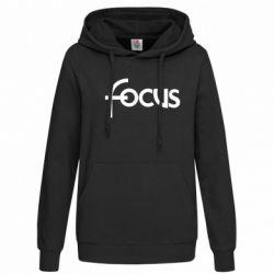 Женская толстовка Focus - FatLine