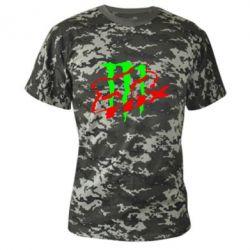 Камуфляжная футболка Фокс Енерджи - FatLine