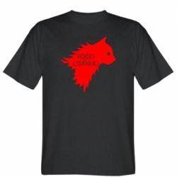 Мужская футболка Food is coming
