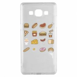 Чехол для Samsung A5 2015 Food