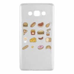 Чехол для Samsung A7 2015 Food