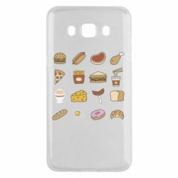Чехол для Samsung J5 2016 Food