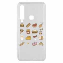 Чехол для Samsung A9 2018 Food