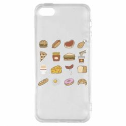 Чехол для iPhone5/5S/SE Food