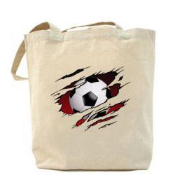 Сумка Football ball  through the T-Shirt