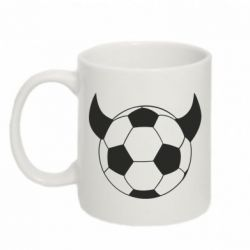 Кружка 320ml Football Devil - FatLine