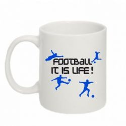Кружка 320ml Football is my life - FatLine