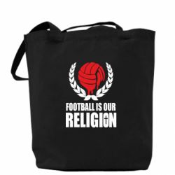 Сумка Football is our religion