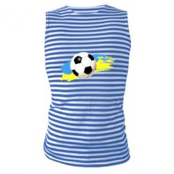 Майка-тельняшка Football of Ukraine