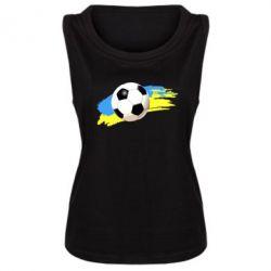 Женская майка Football of Ukraine