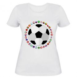 Жіноча футболка Football
