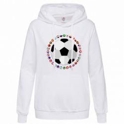 Толстовка жіноча Football