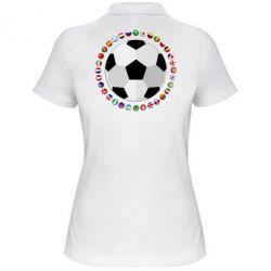 Жіноча футболка поло Football