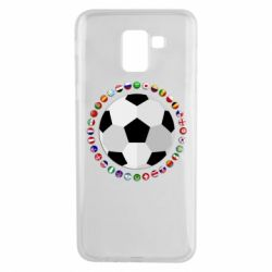 Чохол для Samsung J6 Football