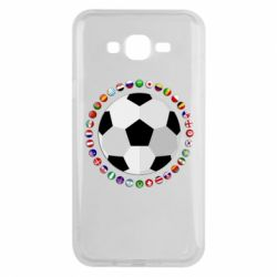 Чохол для Samsung J7 2015 Football
