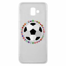 Чохол для Samsung J6 Plus 2018 Football