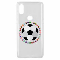 Чохол для Xiaomi Mi Mix 3 Football