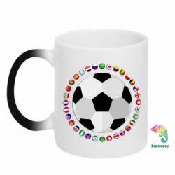 Кружка-хамелеон Football