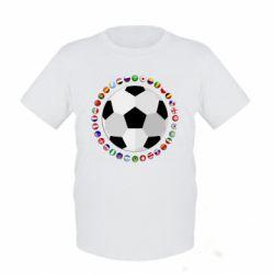 Дитяча футболка Football