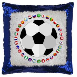 Подушка-хамелеон Football