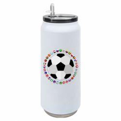 Термобанка 500ml Football