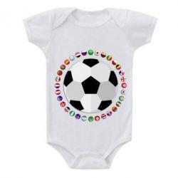 Дитячий бодік Football