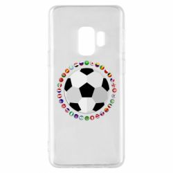 Чохол для Samsung S9 Football