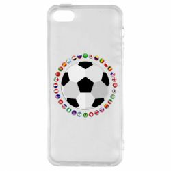 Чохол для iphone 5/5S/SE Football