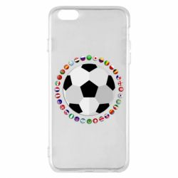 Чохол для iPhone 6 Plus/6S Plus Football