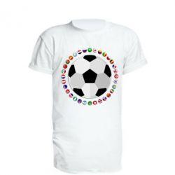 Подовжена футболка Football