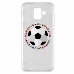 Чохол для Samsung A6 2018 Football