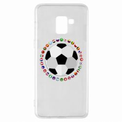 Чохол для Samsung A8+ 2018 Football