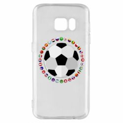 Чохол для Samsung S7 Football