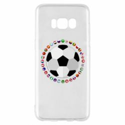 Чохол для Samsung S8 Football