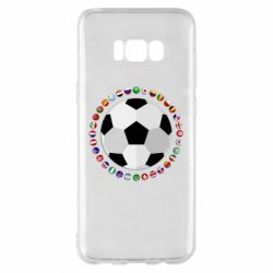 Чохол для Samsung S8+ Football