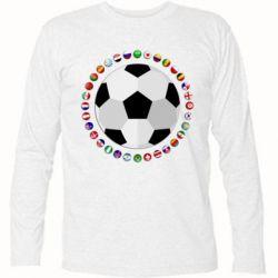 Купить Футболка с длинным рукавом Football, FatLine