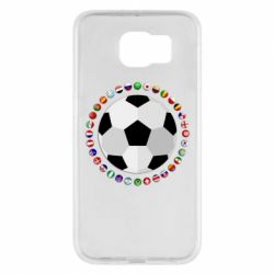 Чохол для Samsung S6 Football