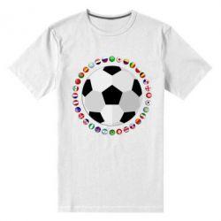 Чоловіча стрейчева футболка Football