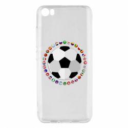 Чохол для Xiaomi Mi5/Mi5 Pro Football