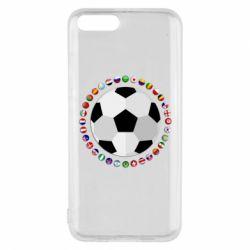 Чохол для Xiaomi Mi6 Football