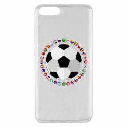 Чохол для Xiaomi Mi Note 3 Football