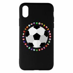 Чохол для iPhone X/Xs Football