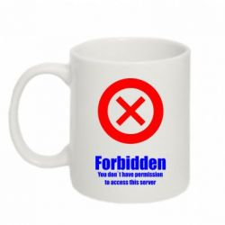 Кружка 320ml FORBIDDEN - FatLine