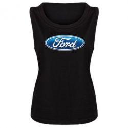 Женская майка Ford 3D Logo - FatLine