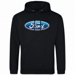 Мужская толстовка Ford 3D Logo - FatLine