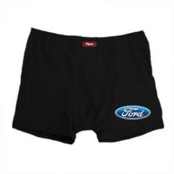 Мужские трусы Ford 3D Logo - FatLine