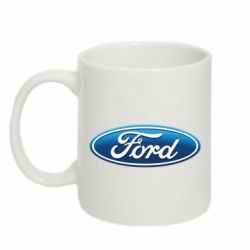 Кружка 320ml Ford 3D Logo - FatLine