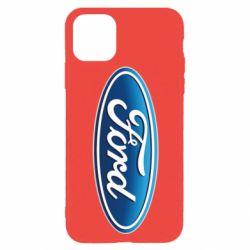 Чехол для iPhone 11 Pro Ford 3D Logo