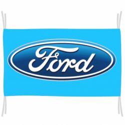 Флаг Ford 3D Logo